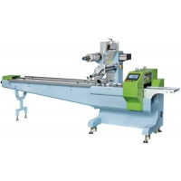Quality 200BPM Full Servo SS304 Flow Wrap Packing Machine With Memory Function for sale