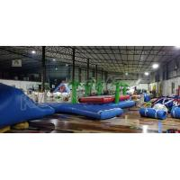 China Crazy Fun Seal Welding Commercial Inflatable Water Parks With Air Pump And Repair Kit on sale