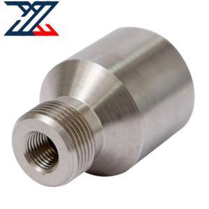 China High Precision CNC Custom Machining Nipples Stainless Steel CNC Machining Parts wholesale