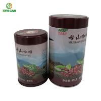 Eco - Friendly Custom Printed Small Metal Containers with  Screw Lids Cap