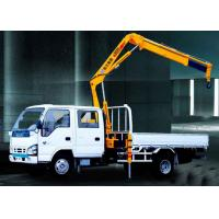 Buy cheap Durable Mobile Folding Truck Articulated Boom Crane , 3200kg Truck Mounted Crane from wholesalers