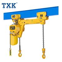 China M4 Working Grade 3 Ton Twin Hook Chain Electric Hoist With Schneider Contactor And Pendant Cable on sale