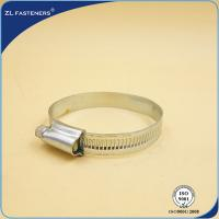 China Customized Size Screw Band Worm Gear Hose Clamp Stainless Steel Material wholesale