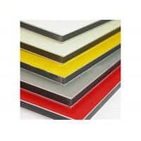 China building Facade Multi Color PVDF Aluminum Composite Wall Panels AAMA260502 wholesale