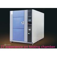 China 3 Zones High Low Ambient Temp Thermal Shock Test Chamber  For Metal / Plastic on sale