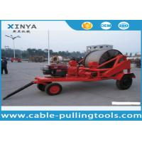 China 3 - 8T Multi function Full Cable Drum Trailer Machine for electric power construction wholesale