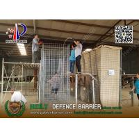 China Mil19 2.74m high X 1.06m width Military Defensive Gabion Barrier    China HESCO Barrier Factory wholesale