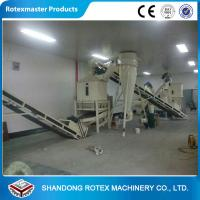 Quality Biomass Complete Flat Die Wood Pellet Machine For Thailand YMKJ350 for sale