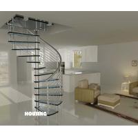 Indoor Custom Spiral Staircases With Stainless Steel Handrail Of Item 99099013