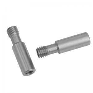 China 27*7mm CR 10 Heatbreak 3D Printer Throat 303 Stainless Steel wholesale