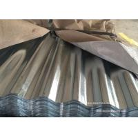 China Waved Galvanized Steel Sheet Plates For Roofing , Walls , Ceiling wholesale