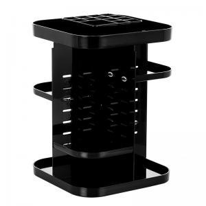 China Four layers non-folding cosmetics rack standing type 360 degree rotation makeup organizer wholesale