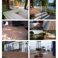 China Composite decking with High Quality, Outdoor cheapwpc decking wholesale