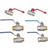 China nicle plated brass valves wholesale