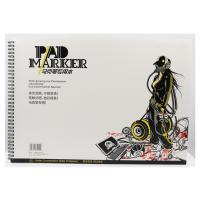 China Artist painting pad , the marker pad , A3 / A4 / A5 , low permeation marker pad wholesale