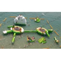 China Kids Backyard Inflatable Water Park With Repair Kits , watertoys Inflatable Party Rentals on sale