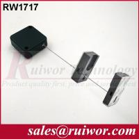 China 44x44x16MM White / Black Security Pull Box With Adhesive Magnetic Display Holder End wholesale