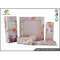 China Colorful Luxury Packaging Boxes , Small Cosmetic Boxes For Perfume Display Window wholesale