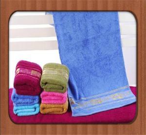 Quality hot sale custom good quality jacquard pure bamboo fiber face towel wholesale for sale