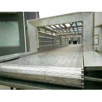 China Chain Driven Link Steel Plate Conveyor , Metal High Temperature Conveyor Belt wholesale