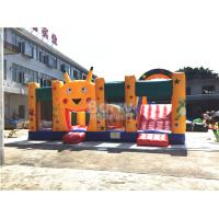 Buy cheap Fire - resistant Big Inflatable Bounce House With Slide Combo SCT EN71 from wholesalers