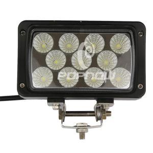 China Rectangle 33 W Automotive LED Work Lights Toughened Glass Lens Epistar 4.3 Inch wholesale