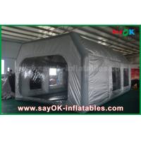 China Prefessional Gray Waterproof PVC and Oxford Cloth Inflatable Paint Booth for Car Painting on sale