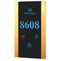 Quality Hotel Door Number Hotel Door Plate Door Bell Touch Switch From CHINA for sale