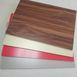China 4mm ACP 3D Wood Grain Aluminum Composite Panel PE Coated Fluorocarbon Coatings wholesale