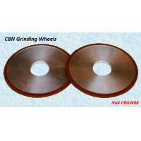 China Resin Bond CBN Grinding Wheels - CBGW08 wholesale