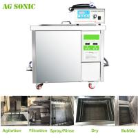 China 360L Auto Parts Ultrasonic Cleaner with 28khz Strong Frequency Power Adjustable wholesale