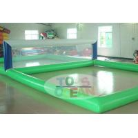 China Transparent Rectangle Inflatable Water Toys For Volley Sport 0.9MM PVC wholesale