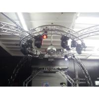 China Bolt System Aluminum Lighting Circle Truss / LED Screen Truss wholesale