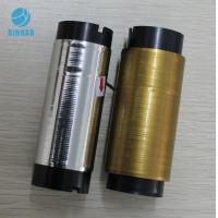 China Golden Silver Line Cigarette Tear Tape Strip , Single-sided Self Adhesive Tape wholesale