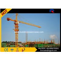 China Outrigger Hydraulic Tower Crane , Crane Lifting Machine 3m To 70m Working Range wholesale
