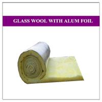 Fiberglass duct insulation air condition glass wool board for Glass fiber board insulation