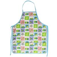 Wholesale 45*60 cm Cute Carton Printed 100% Cotton Bib Aprons Child Kitchen Aprons from china suppliers