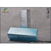 Quality Silver Color Cosmetic Packaging Boxes Foil Stamping For Shopping Mall for sale