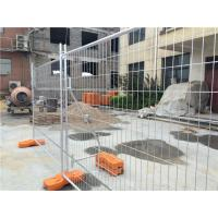 Buy cheap Galvanized Temporary Fence 2400mm x 2100mm x 32mm from wholesalers