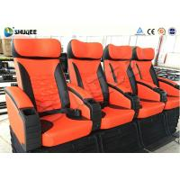 China Motion Chair With Horrible / Adventure Movie 4D Cinema Equipment Unique Design wholesale