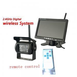 China 7 inch Digital Wireless Backup Cameras System  TFT LCD Monitor wholesale