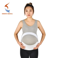 China Maternity Belt Breathable Self-adhesive Elastic Abdominal Binder Maternity Support Belt For Pregnancy wholesale