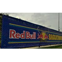 Quality SGS Promotional Mesh Vinyl Banner Great For Windy Outdoor Locations for sale