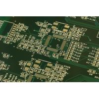 China HDI Rigid Multilayer PCB FR4 Material Immersion Gold Surface Finish Green Solder Mask Electronics wholesale
