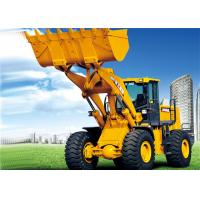 China Heavy Machine Equipment Front End Wheel Loader 3200mm Dumping Clearance wholesale