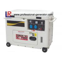 220V / 380V Electric Start 5kw Diesel Generator AC 3 Phase with 12V 8.3A Output