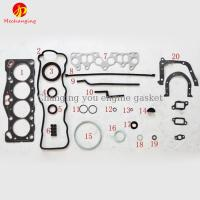 79-84 Year 2AU 2AL For TOYOTA COROLLA OR TERCEL 1.3L Engine Parts Auto Parts Full Set Engine Gasket 04111-14040 50097900