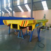 Wholesale 20ton Steel Wheel Battery Rail Flat Transfer Car with CE&ISO from china suppliers