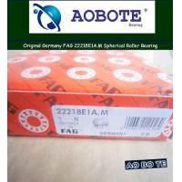 China Spherical FAG Roller Bearings 22218E1A.M With ABEC-5 90*160*40MM and Low Noise wholesale
