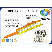 Buy cheap Blue + White + Black Hydraulic Breaker Seal Kit For Hammer Repair Parts Standard from wholesalers